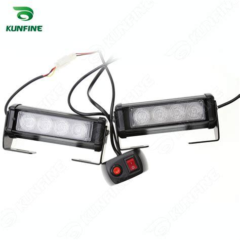car led strobe light bar car warning light car flashlight