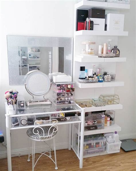 vanity ideas for small bedrooms le 22 postazioni make up da sogno pi 249 belle foto 20062 | postazione make up