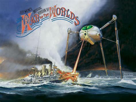 War Of The Worlds Jeff Wayne Artwork