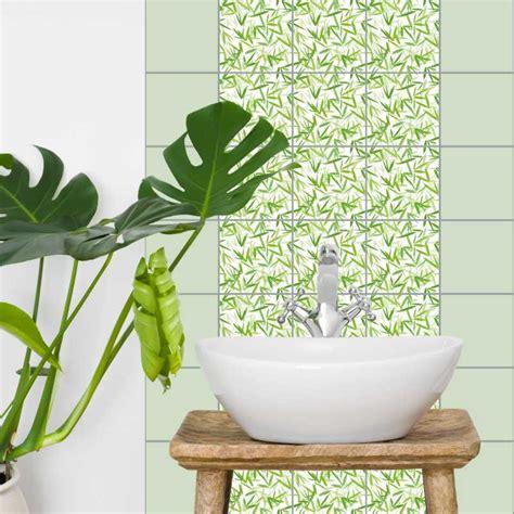 Fliesenaufkleber Mosaik 15x20 fliesenaufkleber asia bamboori 15x20 cm