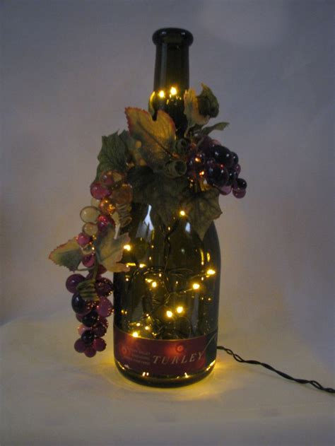 134 best wine bottle lighting images on wine
