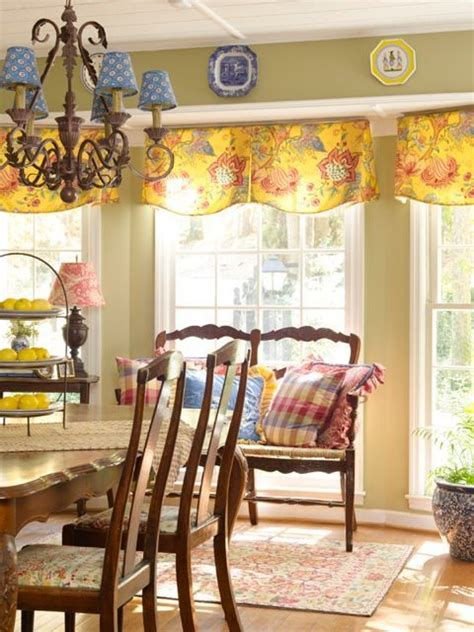 farmhouse living room window treatments french country