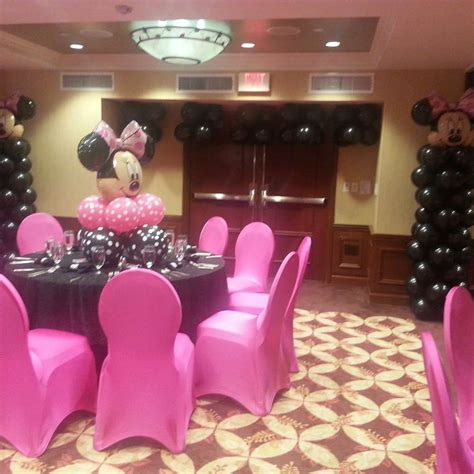 minnie mouse baby shower decorations ideas minnie mouse polka dots baby shower ideas photo 1