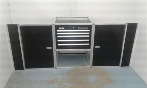 Race Trailer Cabinets by 7 V Nose Trailer Cabinet Kits
