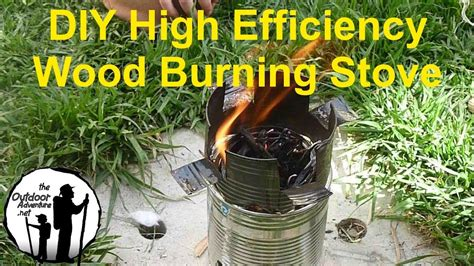 diy     backpacking wood gasifier stove youtube