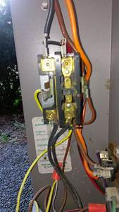 Condenser Tripping Breaker When Air Turned On