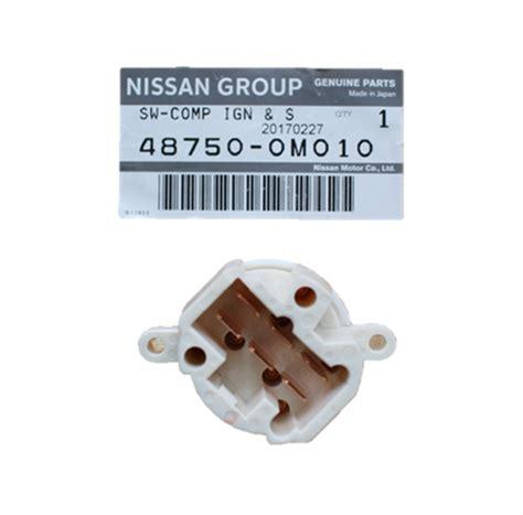 Genuine Nissan Ignition Switch Starter Navara Pathfinder