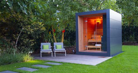 Gartenhaus Modern Design by Design Gartenhaus Moderne Gartenh 228 User Schicke Gartensauna