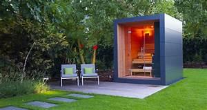 Gartenhaus Mit Unterstand : design gartenhaus moderne gartenh user schicke gartensauna ~ Whattoseeinmadrid.com Haus und Dekorationen
