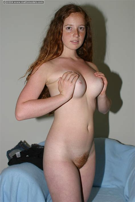 46 · Shy Teen Rachel With Flowing Red Hair Upstairs And Down