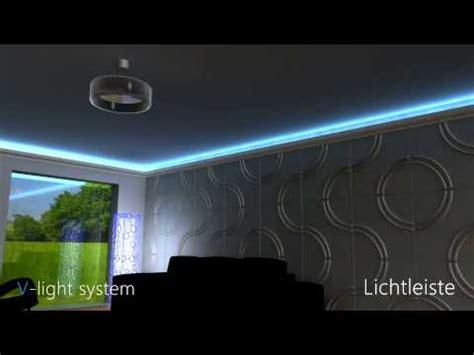 Led Lichtleiste  Direkte Und Indirekte Beleuchtung Youtube