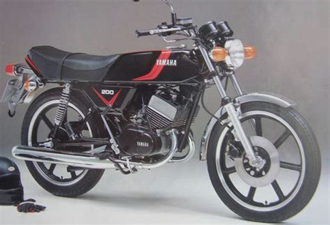 Yamaha Rd200 Twin Cylinder Air Cooled 200cc 2 Stroke Http