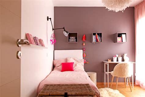 chambre fille photo une chambre de fille poudré et taupe