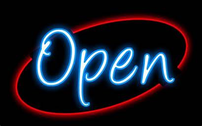 Neon Clipart Open Sign Clip Lighting Reply