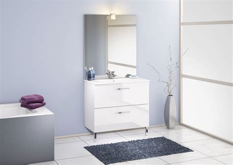 discac salle de bain chango cristal blanc discac cuisines salles de bains