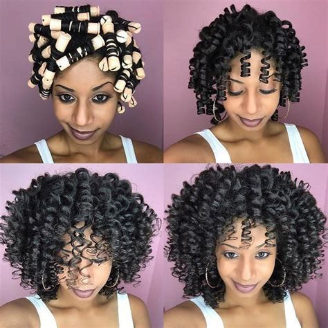 Rod Hairstyles Black Hair by 12 Bomb Perm Rod Set Hairstyle Pictorials And Photos