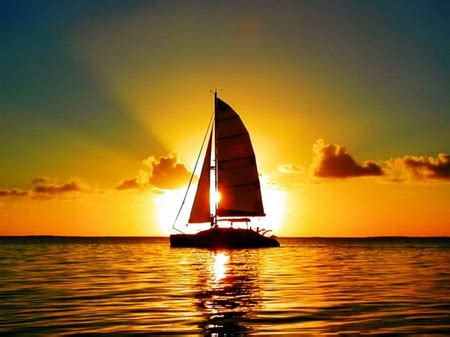 sunset water sunsets nature background wallpapers