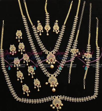 Jewellery Bridal Imitation Latest Ruby Grand Ad
