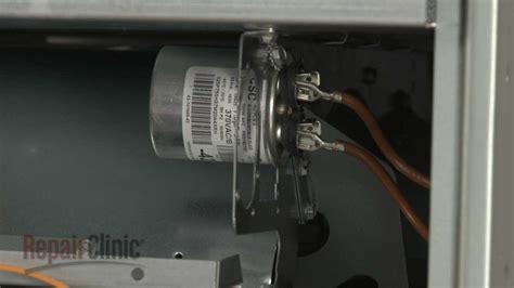 rheem furnace run capacitor replacement  youtube