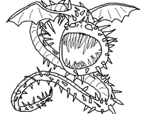How To Train Your Dragon Coloring Pages Skrill Printable