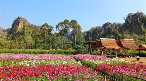 สวนดอกไม้เขาน้อย 360 องศา - แนะนำแหล่งท่องเที่ยวเนินมะปราง
