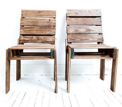 chairs made of pallets my desired home