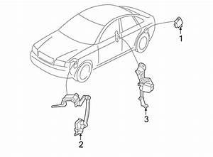 2009 Audi A4 Cabriolet Convertible Headlight Level Sensor