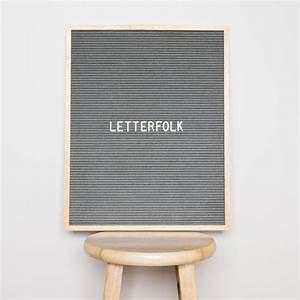 16x20 letter board w 290 characters grey felt for Grey felt letter board