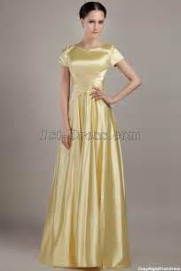 bridesmaid dress with sleeves gold modest bridesmaid dress with sleeves img 2998 1st dress