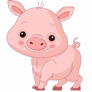 Pink Pig's - Cartoon Animal Images