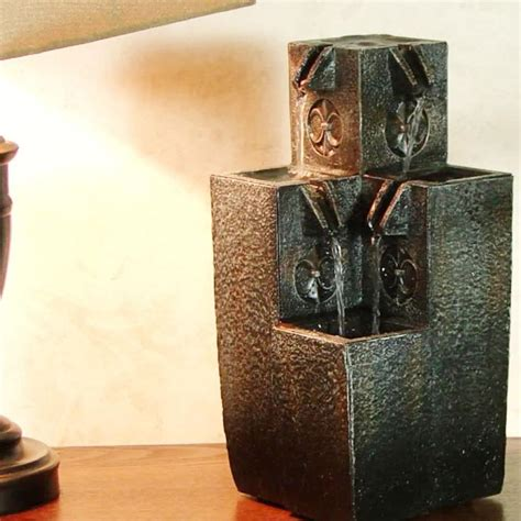 mini water fountain for desk small water fountains for table backyard design ideas