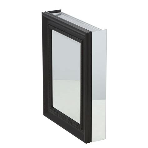 Recessed Medicine Cabinet Espresso Home Depot by Pegasus 20 In X 26 In Framed Recessed Or Surface Mount