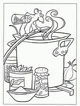 Coloring Ratatouille Soup Stone Disney Template Colouring Cooking Sheets Chili Adult Coloriages Popular Coloringhome sketch template