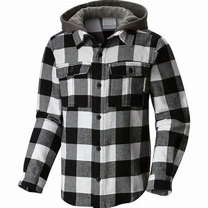 Boys Columbia Jacket Size Chart Columbia Boulder Ridge Flannel Hooded Shirt Long Sleeve