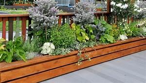 Design hochbeet balkon for Hochbeet terrasse