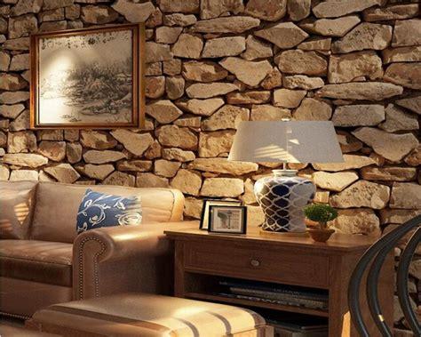 beibehang vintage  brick wallpaper rock wallpaper fake