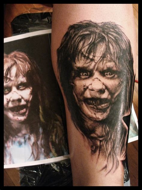 kevin lewis exorcist tattoo sick tattoos blog  news