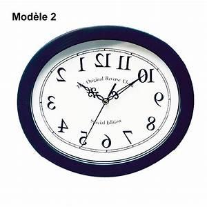 Horloge Murale Avec Chiffres Inverss