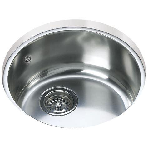 round stainless steel sink teka be 039 stainless steel 1 0 bowl round undermount sink