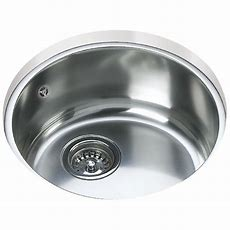 Teka Be 039 Stainless Steel 10 Bowl Round Undermount Sink