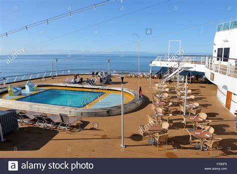 Cruise Ship Pool Stock Photos & Cruise Ship Pool Stock