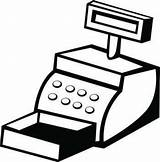 Register Clipart Cash Cliparts Library Clip sketch template