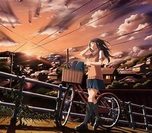 Anime, Girls, School, Uniform, Original, Characters, Wallpapers, Hd, Desktop, And, Mobile, Backgrounds