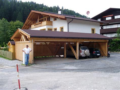 Carport  Zimmerei Jöchl