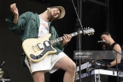 Jack Antonoff of Bleachers performs during the 2018 ...
