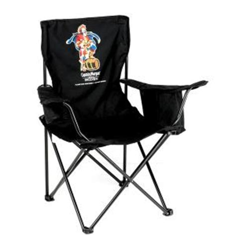 promotional folding outdoor chair with insulated cooler