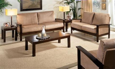 Indian Wooden Sofa Set Designs by Wooden Furniture For Living Room Indian Furniture Wooden
