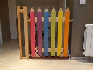Barriere De Securite Escalier : barri re escalier crayon par l atelier1053 sur l 39 air du bois ~ Melissatoandfro.com Idées de Décoration