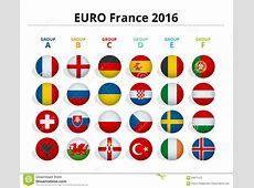 Euro 2016 In France Flags Of European Countries