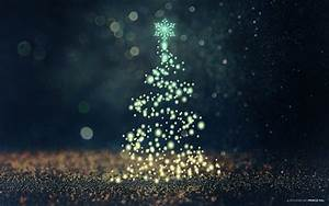 Christmas Tree Bokeh Wallpapers
